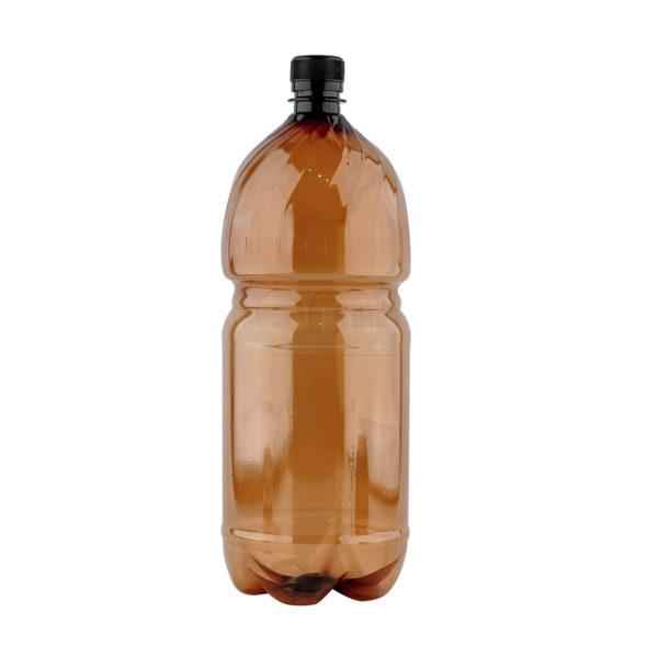 пластиковая коричневая бутылка пэт по оптовой цене от производителя