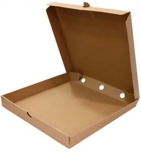 коробка под пиццу 33х33х4 см. купить коробки для пиццы оптом