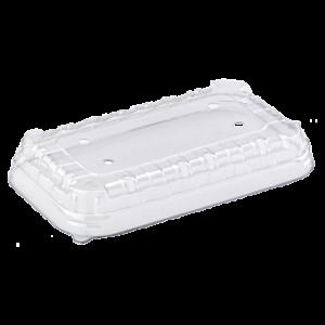 Крышка для контейнеров с перфорацией L6-38 194х118х38мм ПЭТ