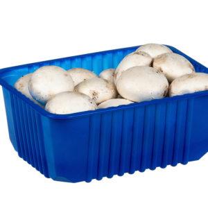 Лоток - контейнер для грибов 184х144х74мм 500гр