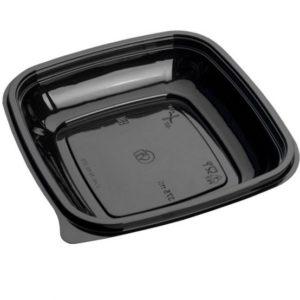 Контейнер гастроемкость 160х160 СПК 1616 375мл чаще всего используется для салатов и готовых блюд, так же для доставки готовых блюд на дом...