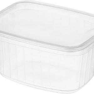 Контейнер 108х82 с крышкой 200 мл для сметаны творога салатов готовых блюд полуфабрикатов