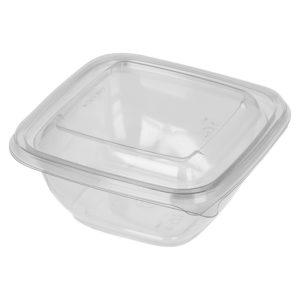 Контейнер гастроемкость 126х126 СПК 1212 500мл чаще всего используется для салатов и готовых блюд, так же для доставки готовых блюд на дом...