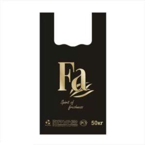"""Пакет """"майка"""" FA 30+16х55 (22мкм). Чаще всего применяется в магазинах для продажи покупателю. Цена: 1.25 руб."""