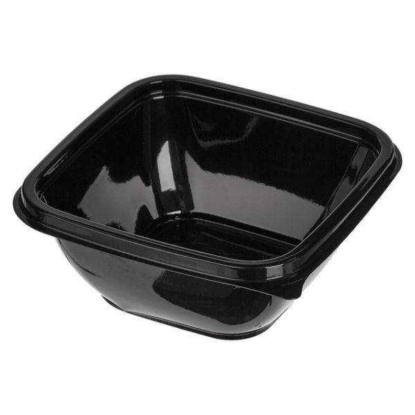 Контейнер гастроемкость 160х160 СПК 1616 625мл чаще всего используется для салатов и готовых блюд, так же для доставки готовых блюд на дом...
