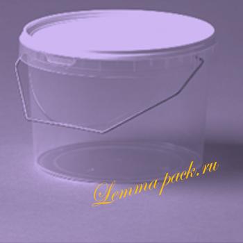 Полипропиленовое ведро с крышкой 3л. Пластиковое ведро с удобной ручкой и плотно закрывающейся крышкой. Цена: 34.20 руб.