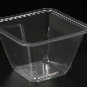 """Упаковка-контейнер ПР-УП-132х70 """"ПИРАМИДА"""". К стакану-креманке может прилагаться пробная партия крышек ПР-УП-109.* Цена: 6.70 руб."""