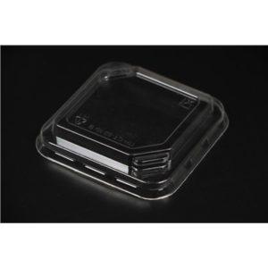 Крышка ПР-СТ-80 КР для квадратного стакана. Крышка квадратная с отверстием для ложки-вилки ПР-СТ. Цена: 1.80 руб.