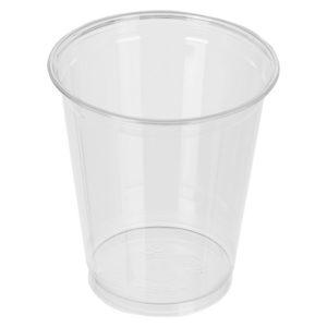 """Стакан ПЭТ """"Шейкер"""" 95мм 400мл прозрачный для молочного коктейля, для коктейлей, для холодных напитков. Стаканы шейкеры по самой низкой цене."""