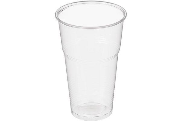 """Стакан пластиковый """"ЭКОНОМ Факел"""" D-95мм. для холодных напитков, для молочного коктейля, для пива. Цена: 1.20 руб."""