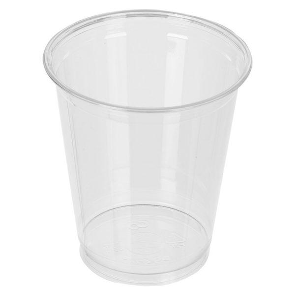 """Стакан ПЭТ """"Шейкер"""" 95мм 300мл прозрачный для молочного коктейля, для коктейлей, для холодных напитков. Стаканы шейкеры по самой низкой цене."""