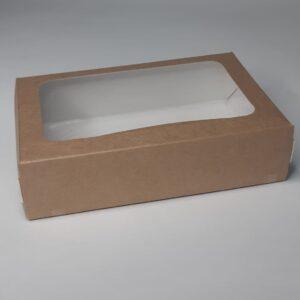 Коробка контейнер Крафт самосборный 170х115х45мм
