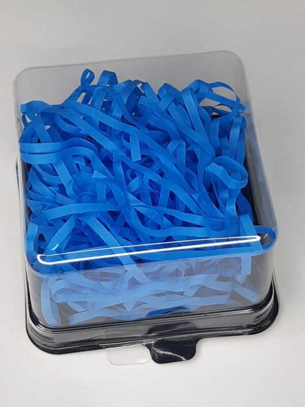 бумажный синий наполнитель для кусочка мыла ручной работы