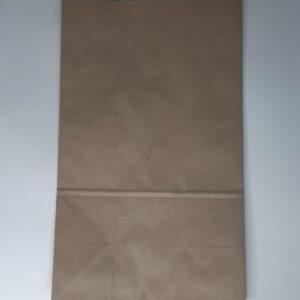 бумажный крафт пакет с плоским дном, пакет 180х110х300мм крафт одноразовый дёшево